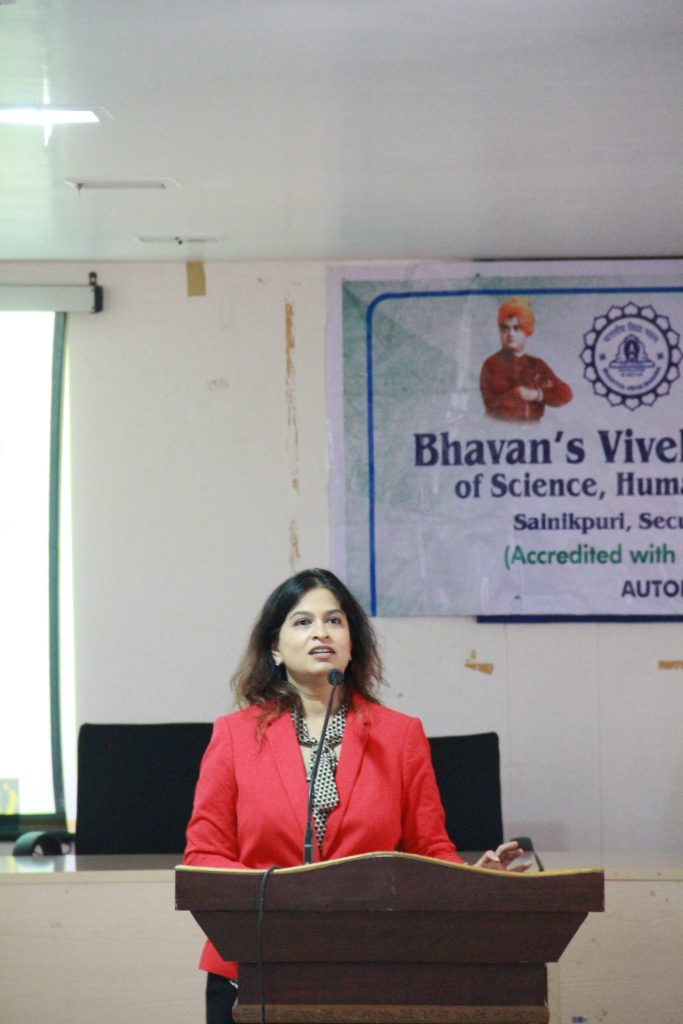 Corporate Etiquette @Bhavans Vivekanand